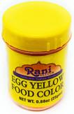Rani Yellow Food Color 25Gm~FDA Approved~ All Natural | NON-GMO | Vegan | Gluten Friendly | Indian Origin