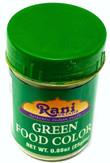 Rani Green Food Color 25Gm~FDA Approved~ All Natural | NON-GMO | Vegan | Gluten Friendly | Indian Origin