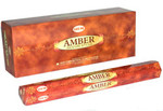 Hem Amber Incense Sticks 6Pk