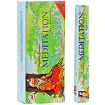 Mysore Meditation Incense Hex Box 6pk