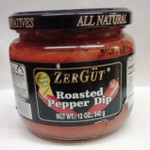 Zergut Roasted Pepper Dip 12Oz
