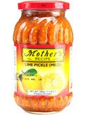 Mother's Recipe Lime Pickle Mild 500g