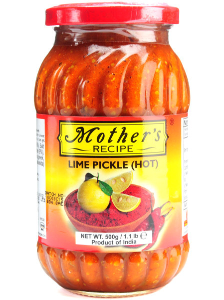 Mother's Recipe Lime Pickle Hot 500G - RanisWorldFoods.com