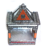 "Mandir Temple 18"" X 9"" Open"