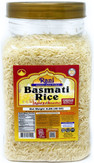 Rani Platinum White Basmati Rice Extra Long Aged, 3lbs (48oz) ~ PET Jar ~ All Natural | Vegan | Gluten Free Ingredients | Indian Origin