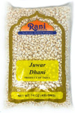 "Rani Juwar Dhani (Puffed ""popcorn"" Sorghum) 14oz (400g) ~ All Natural, Indian Origin 