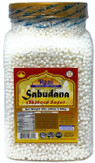 Rani Sabudana (Tapioca / Sago) Pearls 3lbs (48oz) Pet Jar Bulk ~ All Natural | Vegan | No Colors | NON-GMO | Indian Origin