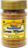 Rani Garam Masala Indian 11 Spice Blend 3oz (85g) All Natural | Gluten Free Ingredients | Salt Free | NON-GMO