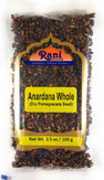 Rani Anardana (Pomegranate) Dry Whole Seeds Indian Spice 3.5oz (100g) ~ All Natural | No Color | Gluten Free Ingredients | Vegan | NON-GMO