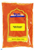 Rani Chilli Powder (Mirchi) Ground Indian Spice 14oz (400g) ~ All Natural, Salt-Free | Vegan | No Colors | Gluten Free Ingredients | NON-GMO | Indian Origin