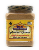 Rani Amchur (Mango) Ground Powder Spice 16oz (454g) ~ All Natural, Indian Origin | No Color | Gluten Free Ingredients | Vegan | NON-GMO | No Salt or fillers