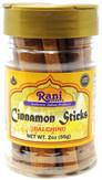 Rani Cinnamon Sticks 2oz (56g) ~ 6-8 Sticks 3 Inches in Length Cassia Ceylon Round ~ All Natural   Vegan   No Colors   Gluten Friendly   NON-GMO