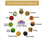 Rani Curry Powder Hot Natural 11-Spice Blend 1lb (16oz) ~ Salt Free | Vegan | Gluten Free Ingredients | NON-GMO