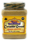 Rani Coriander Ground Powder (Indian Dhania) Spice 14oz (400g) PET Jar ~ All Natural, Salt-Free | Vegan | No Colors | Gluten Free Ingredients | NON-GMO | Indian Origin