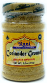 Rani Coriander Ground Powder (Indian Dhania) Spice 2.5oz (70g) PET Jar ~ All Natural, Salt-Free | Vegan | No Colors | Gluten Free Ingredients | NON-GMO | Indian Origin