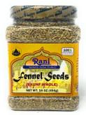 Rani Fennel Seeds 16oz (454g)