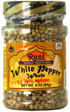 Rani White Pepper Whole 3oz