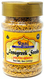 Rani Fenugreek (Methi) Seeds Whole 5oz (141g) PET Jar, Trigonella foenum graecum ~ All Natural | Vegan | Gluten Friendly | Non-GMO | Indian Origin, used in cooking & Ayurvedic spice