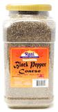 Rani Black Pepper Coarse Ground 28 Mesh (Table Grind), Premium Indian 80oz (5lbs) 5 Pound ~ PET Jar, Gluten Friendly, Non-GMO, All Natural
