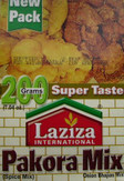 Laziza Pakora Mix 200g