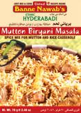 Banne Nawab Mutton Biryani Masala 70G