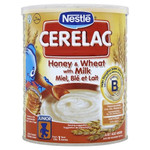 Nestle Cerelac Honey & Wheat 400g