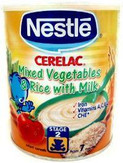 Nestle Cerelac Mixed Vegetables & Rice 400g