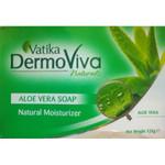Vatika DermoViva Naturals Aloe Vera Soap 125g