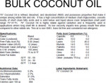 Coconut Oil (Bulk)