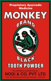 Monkey Brand Black Tooth Powder 100g