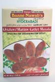 Banne Nawab Chicken/Mutton Cutlet Masala 80g