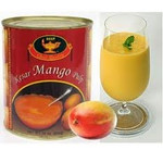 Deep Kesar Mango Pulp 850 Grams, 30 Oz.