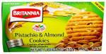 Britannia Pistachio & Almond Cookies 253g 8.9OZ