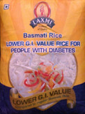 Laxmi Diabetic Basmati Rice 10Lb 4.54kg