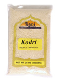 Rani Kodri (Polished Kodo Millet Seeds) Ancient Grains 800g (28oz) ~ All Natural | Gluten Free Ingredients | NON-GMO | Vegan | Indian Origin (Varagu/Kodra/Harka)