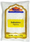 Rani Sabudana (Tapioca / Sago) Pearls 4lbs (64oz) Bulk ~ All Natural | Vegan | No Colors | NON-GMO | Indian Origin