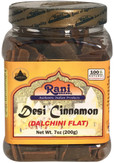 Rani Desi (Dalchini) Flat Cinnamon 200gm (PET Jar)