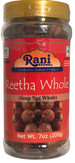 Rani Reetha (Soap Nut) Whole 7oz (200g) ~ Natural, Salt-Free | Vegan | No Colors | Gluten Friendly | NON-GMO | Indian Origin