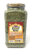 Rani Fenugreek Leaves Dried, All Natural (Kasoori Methi) 500g (17.5oz) PET JAR ~ Gluten Free Ingredients | NON-GMO ~ Vegan
