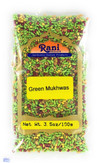 Rani Green Mukhwas (Special Digestive Treat) 3.5oz (100g) ~ Indian Candy Mouth Freshener