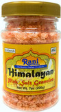 Rani Himalayan Pink Salt Granules (84 Essential Trace Minerals) 7oz (200g) PET Jar ~ All Natural   Vegan   Gluten Free Ingredients   NON-GMO   Indian Origin…