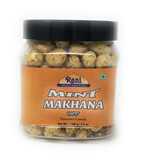 Rani Phool Makhana Snack 3.5oz (100g) - Mint Savory Flavor (Fox Nut/Popped Lotus Seed)
