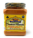 Rani Tandoori Masala (Natural, No Colors Added) Indian 11-Spice Blend 16oz (454g) 1lb PET Jar ~ Salt Free | Vegan | Gluten Free Ingredients | NON-GMO …