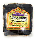 Rani Natural Wet Seedless Tamarind Block/Slab (Imli) 7oz (200g) No added sugar | Vegan | Gluten Free Ingredients | NON-GMO | Indian Origin