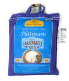Rani Platinum White Basmati Rice Extra Long Aged, 4 Pound (4lbs, 1.81kg) ~ All Natural | Vegan | Gluten Free Ingredients | Indian Origin