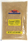 Rani Foxtail Millet Polished (Setaria italica) Ancient Grains 800g (28oz) ~ All Natural | Gluten Free Ingredients | NON-GMO | Vegan | Indian Origin | Kangi / Kakum / Navane / Tenai / Korralu / Korra