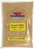 Rani Foxtail Millet Polished (Setaria italica) Ancient Grains 800g (28oz) ~ All Natural | Gluten Friendly | NON-GMO | Vegan | Indian Origin | Kangi / Kakum / Navane / Tenai / Korralu / Korra