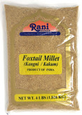 Rani Foxtail Millet Polished (Setaria italica) Ancient Grains 4 Pound, 4lbs (64oz) ~ All Natural | Gluten Free Ingredients | NON-GMO | Vegan | Indian Origin | Kangi / Kakum / Navane / Tenai