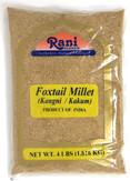 Rani Foxtail Millet Polished (Setaria italica) Ancient Grains 4 Pound, 4lbs (64oz) ~ All Natural | Gluten Friendly | NON-GMO | Vegan | Indian Origin | Kangi / Kakum / Navane / Tenai