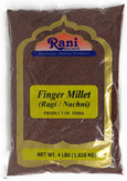 Rani Ragi Finger Millet (Eleusine Coracana) Whole Ancient Grain Seeds 4 Pound, 4lbs (64oz) ~ All Natural | Gluten Free Ingredients | NON-GMO | Vegan | Indian Origin | Nachni / Ragula / Nagli / Keppai